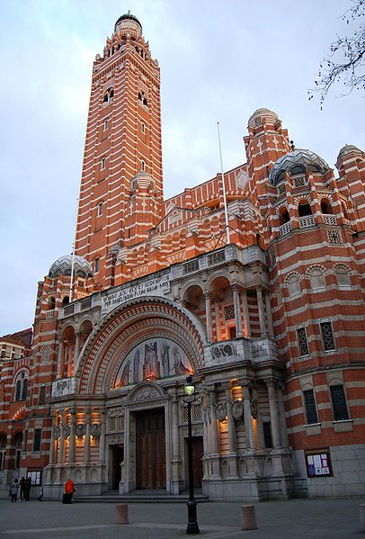 You are browsing images from the article: Westminster Cathedral w Londynie - główna świątynia rzymsko-katolicka w Anglii i Walii