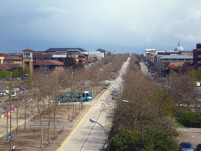 You are browsing images from the article: Milton Keynes - miasto Formuły 1
