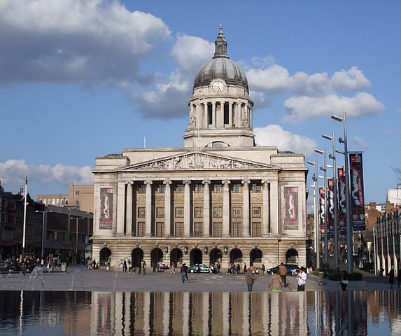 You are browsing images from the article: Nottingham - miasto Robin Hooda