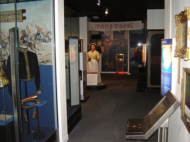 You are browsing images from the article: National Army Museum - centralne muzeum brytyjskiej armii