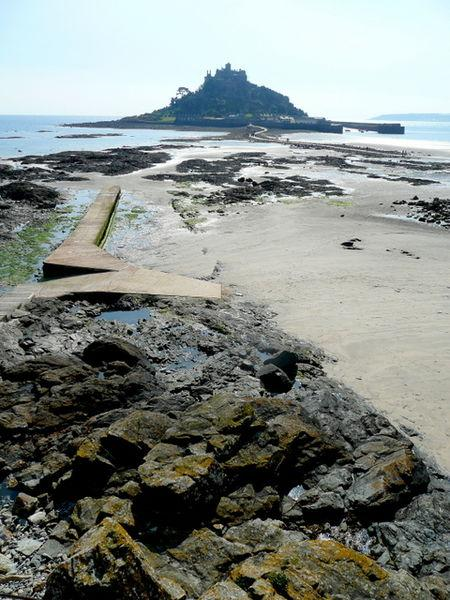 You are browsing images from the article: St Michael's Mount - wyspa u wybrzeży Kornwalii