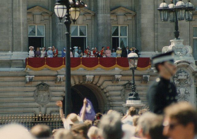 You are browsing images from the article: Buckingham Palace - rezydencja monarchii brytyjskiej