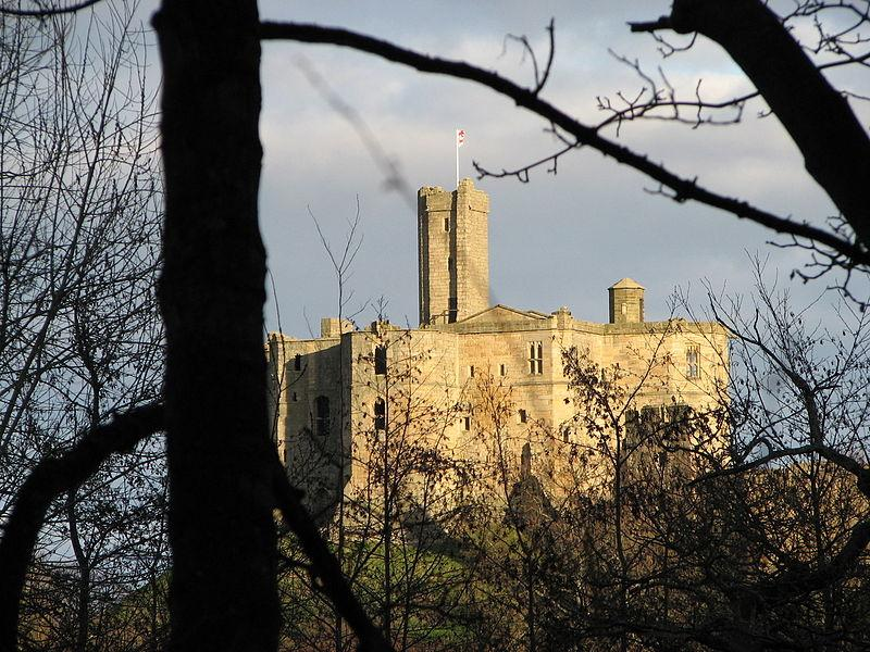 You are browsing images from the article: Warkworth Castle - średniowieczna fortyfikacja