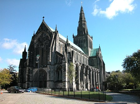You are browsing images from the article: Glasgow Cathedral - Katedra, przykład architektury gotyckiej w Szkocji