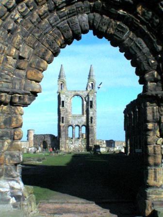 You are browsing images from the article: St Andrews Cathedral - Katedra, ruiny historycznej świetności w Szkocji