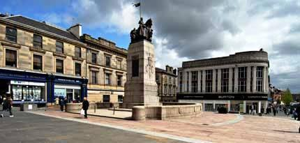 You are browsing images from the article: Paisley - historyczna brama Glasgow