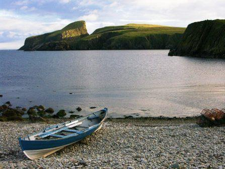 You are browsing images from the article: Fair Isle - szkocka wyspa z ogromnymi klifami