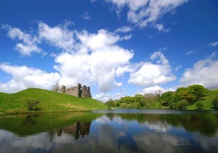 You are browsing images from the article: Morton Castle - ruiny twierdzy z połowy XV wieku